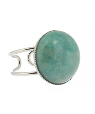 Bague en Amazonite de Russie