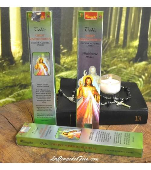 Encens Christ Miséricordieux en batons