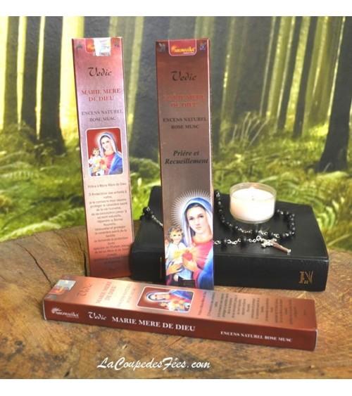 Encens  Marie mère de Dieu (bâtons)