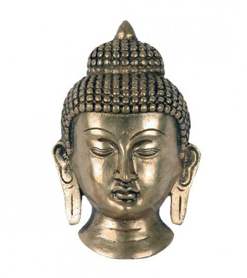 Visage du Bouddha doré