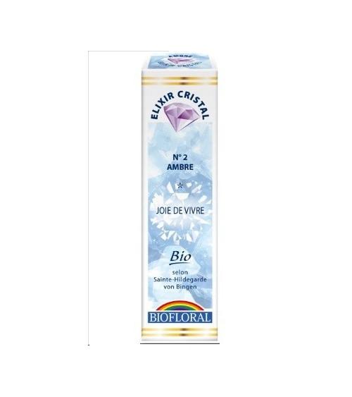 Elixir minéral Ambre - 20ml - bio
