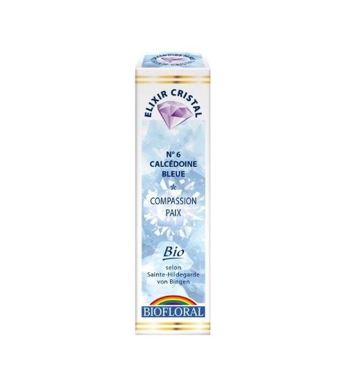 Elixir minéral Calcédoine bleue - 20ml - bio