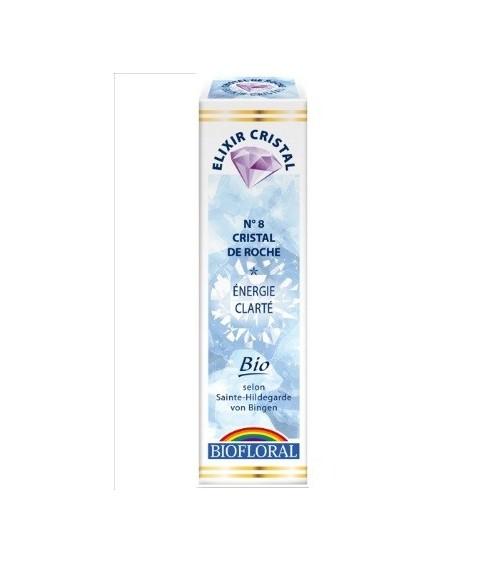 Elixir minéral Cristal de roche - 20ml - bio