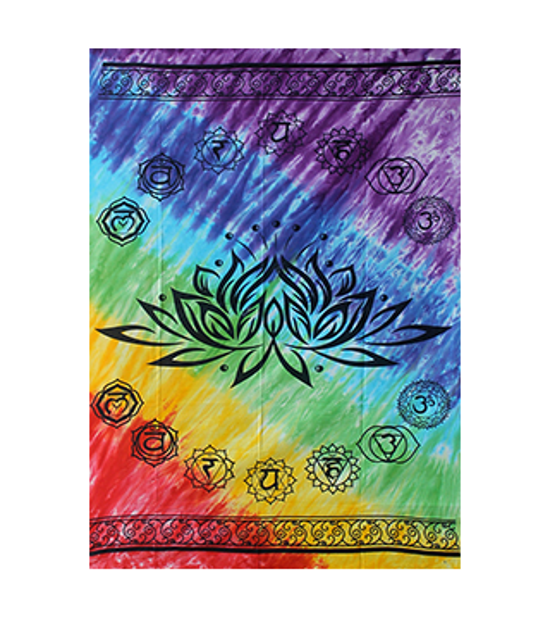 Nappe Chakras Lotus