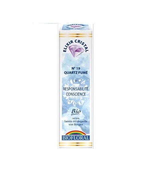 Elixir minéral Quartz fumé