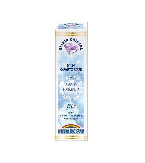 Elixir minéral Quartz rose