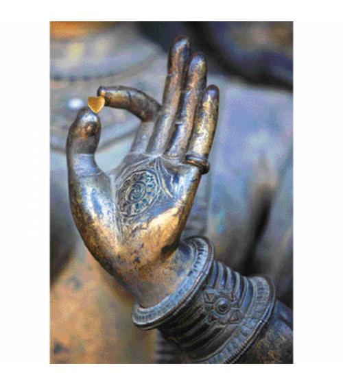 Carte Postale main de Bouddha
