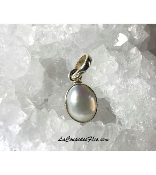 Petit pendentif Perle & Argent