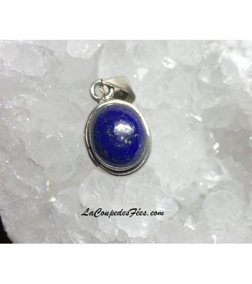Petit pendentif Lapis lazuli & Argent