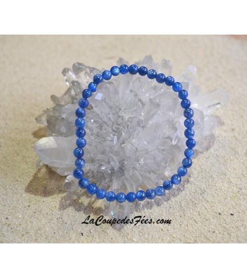 Bracelet Pierre Cyanite (4 mm)