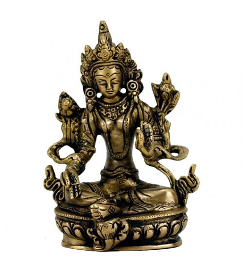 Statuette de Tara Verte