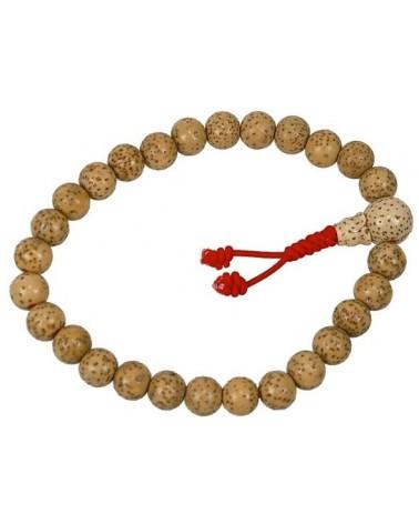 Bracelet Mala graines de pipal