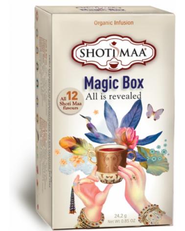 Shoti Maa MAGIC BOX 12 parfums de thé bio