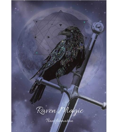 Carte postale Magie du Corbeau