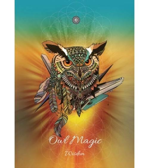 Carte postale Magie du Hibou