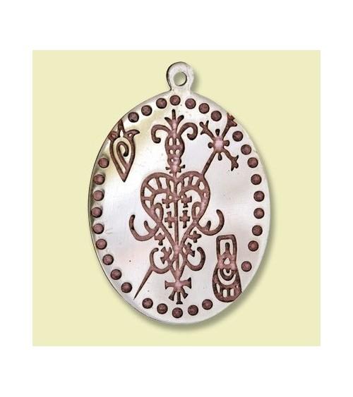 Amulette Vaudou Erzulie