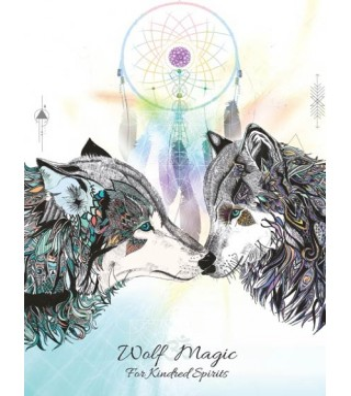 Carte postale Magie du Loup