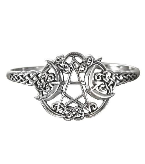Bracelet Pentagramme en Argent