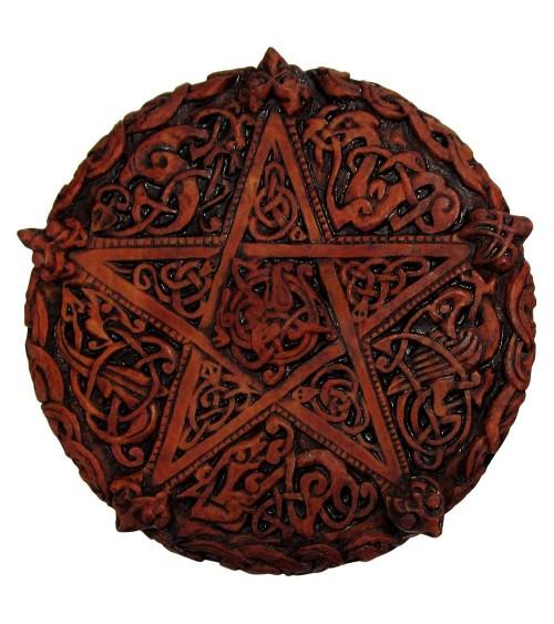 Plaque Pentagramme Celtique