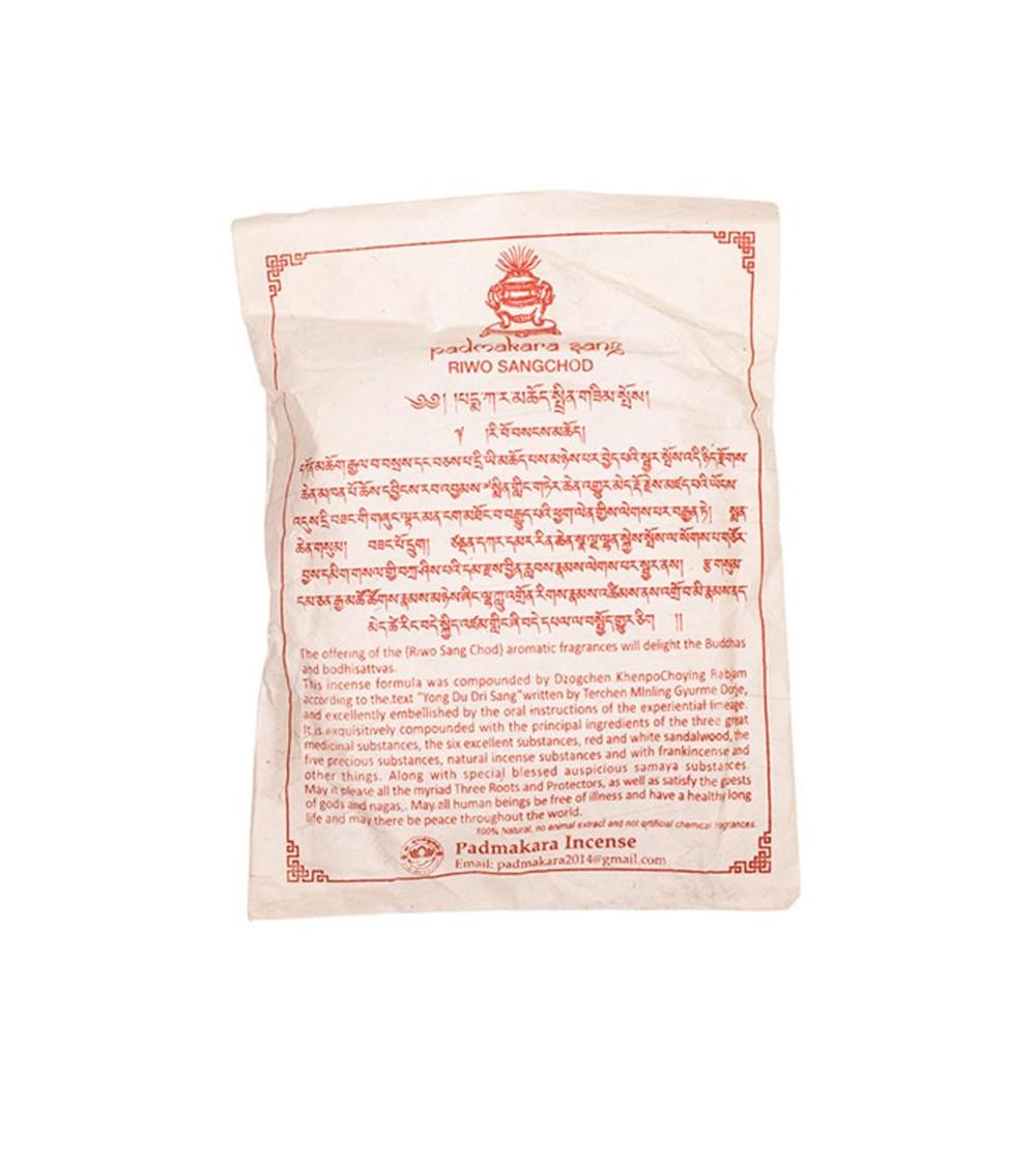 Encens Tibétain Riwo sang chod