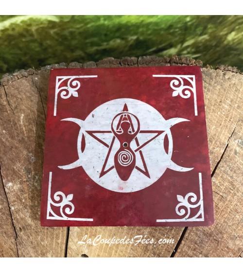 Porte encens Wicca