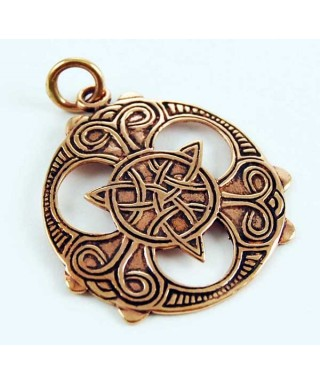 Amulette Celtique en Bronze