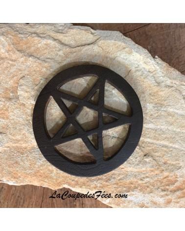 Pentacle d'autel en bois