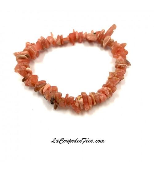 Bracelet en Rhodochrosite