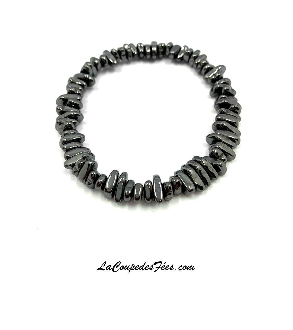 Bracelet en Hématite