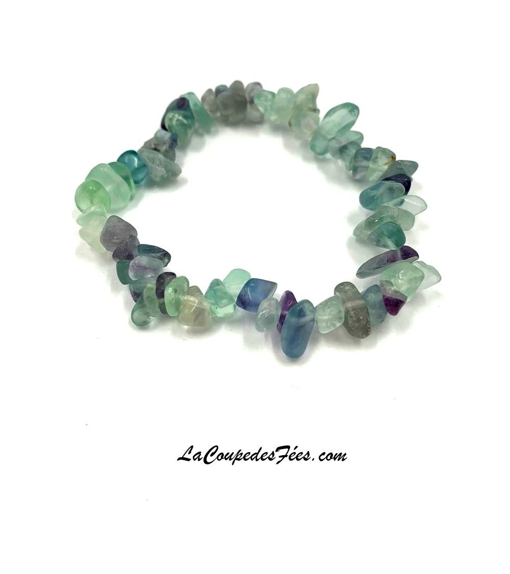Bracelet en Fluorite