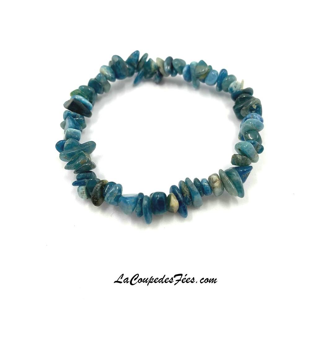 bracelet en Apatite bleue Extra