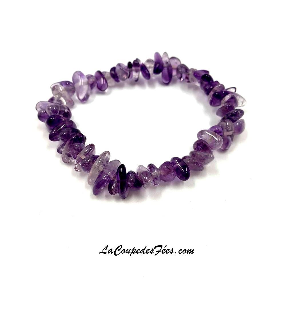 Bracelet en Amethyste