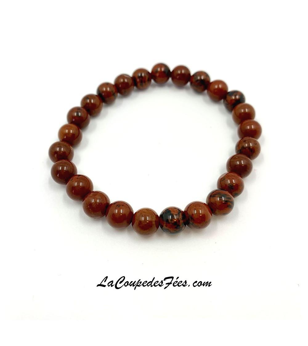 Bracelet en Obsidienne Mahogany