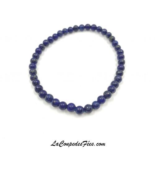 Bracelet Pierre Lapis Lazuli (4 mm)