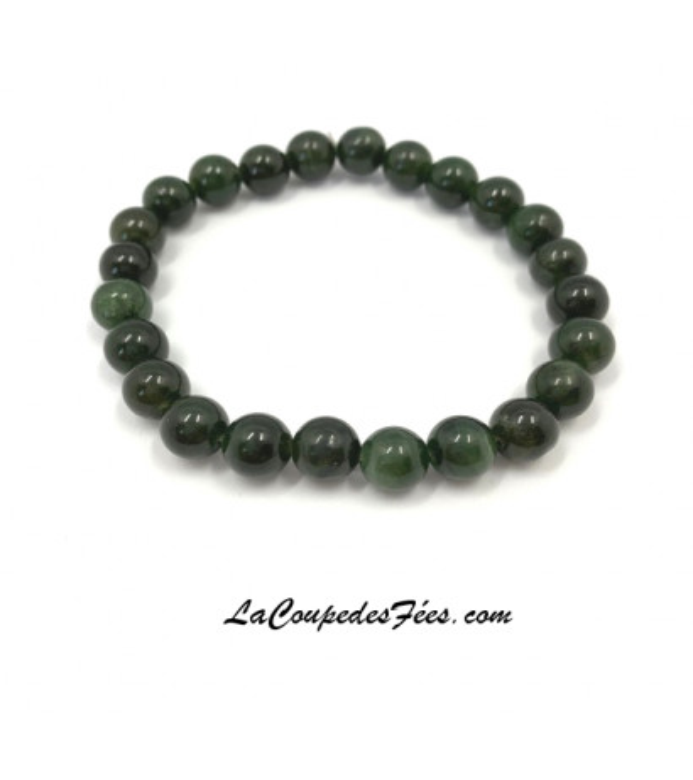 Jade néphrite (8 mm)