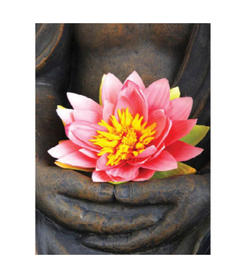 Carte postale Bouddha relaxation