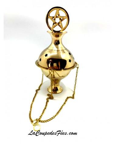 Encensoir Pentagramme à chaine