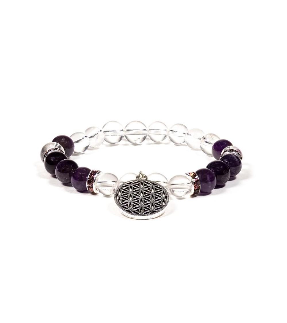 Bracelet Amazonite & Lotus