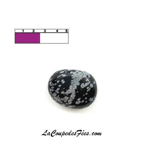 Obsidienne Floconneuse