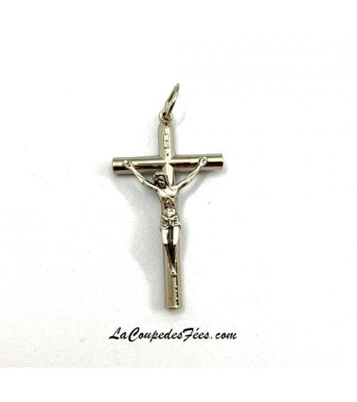 Croix du Christ en Argent