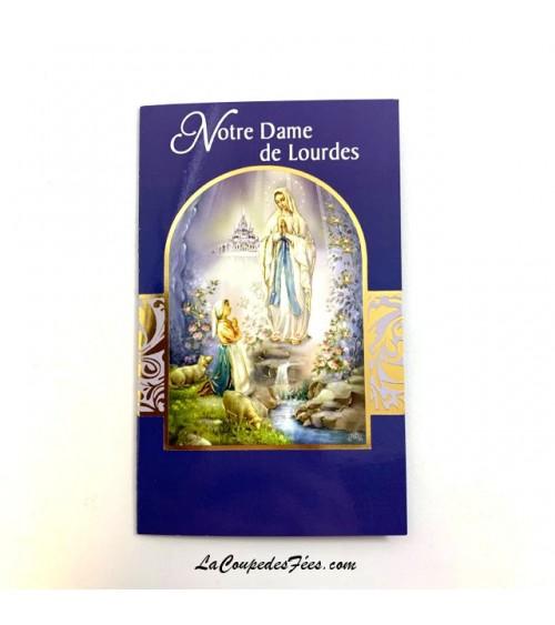 Carte Notre Dame de Lourdes