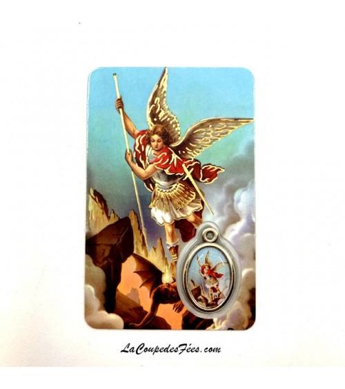 Carte Médaille Saint Michel