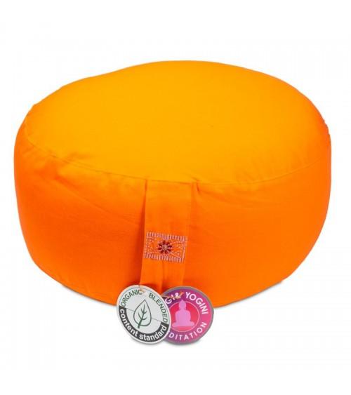Coussin de méditation Orange