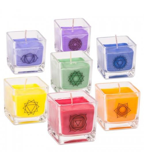 Set de bougies Chakras