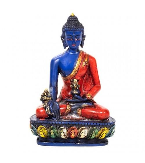 Bouddha Médecine peint