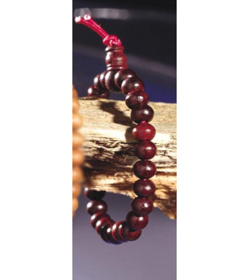 Bracelet Mala bois de rose