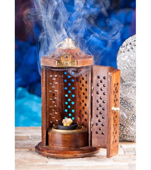 Encensoir Lanterne en bois