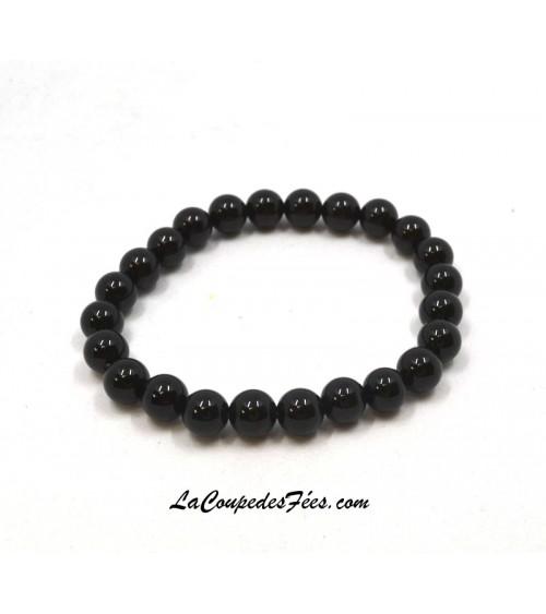 Obsidienne noire (8 mm)