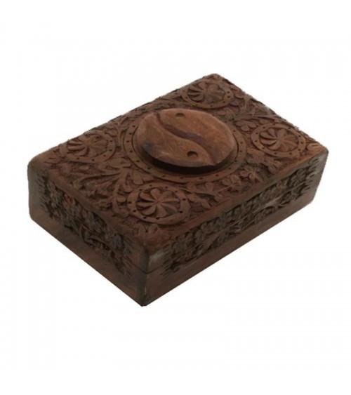 Coffret Yin Yang en bois