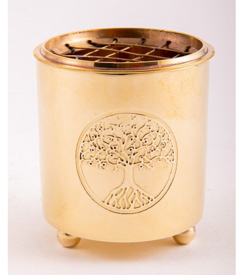 Encensoir Yggdrasil en laiton